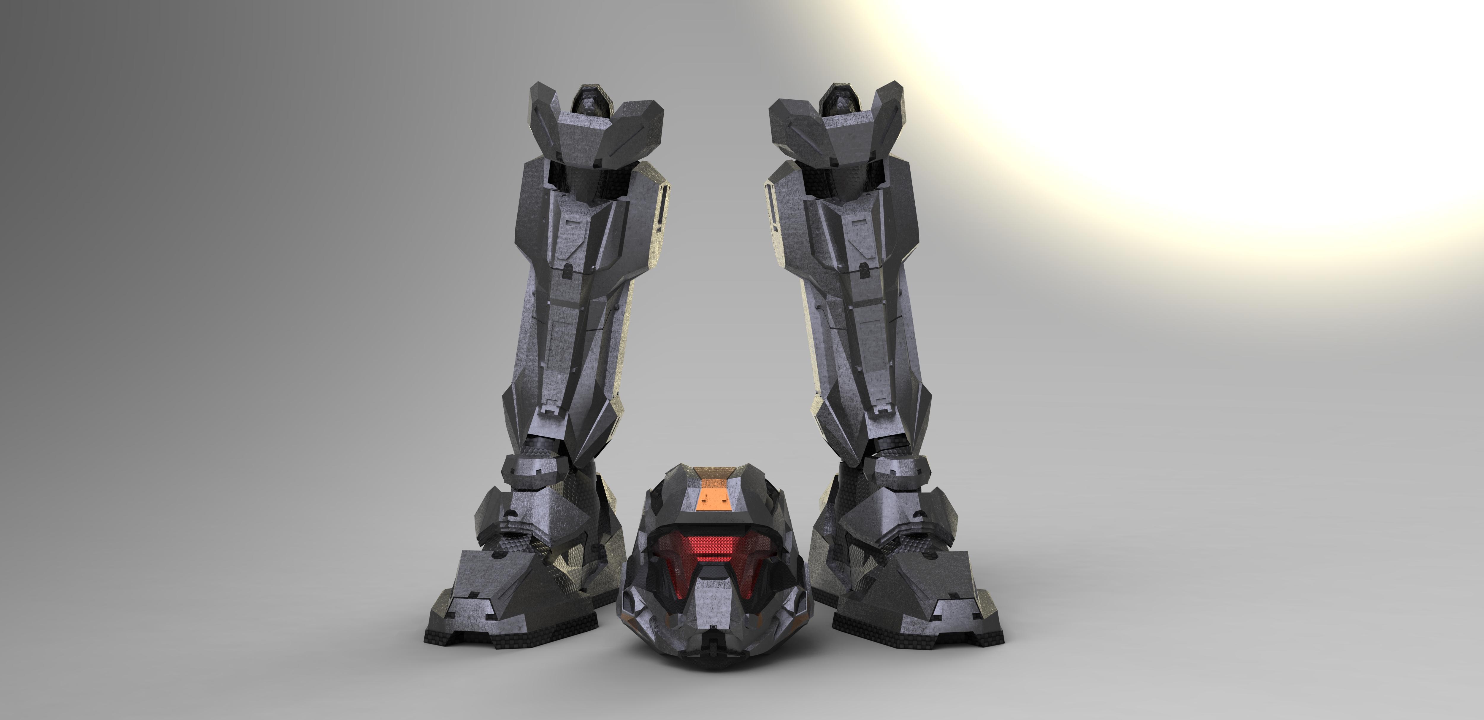 Halo 4:  Recruit (WIP1) by Dutch02