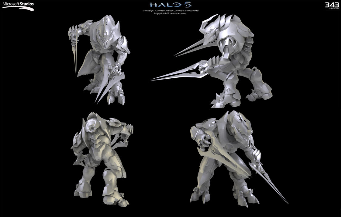 halo 5 possible arbiter concepts found theory halo 5 guardians