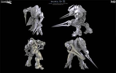 Halo 5:  Arbiter Concept by Dutch02