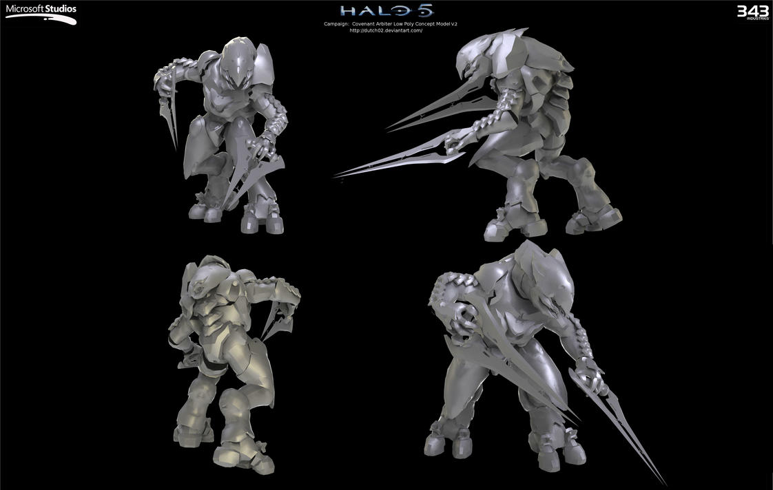 Halo 5:  Arbiter Concept 2 by Dutch02