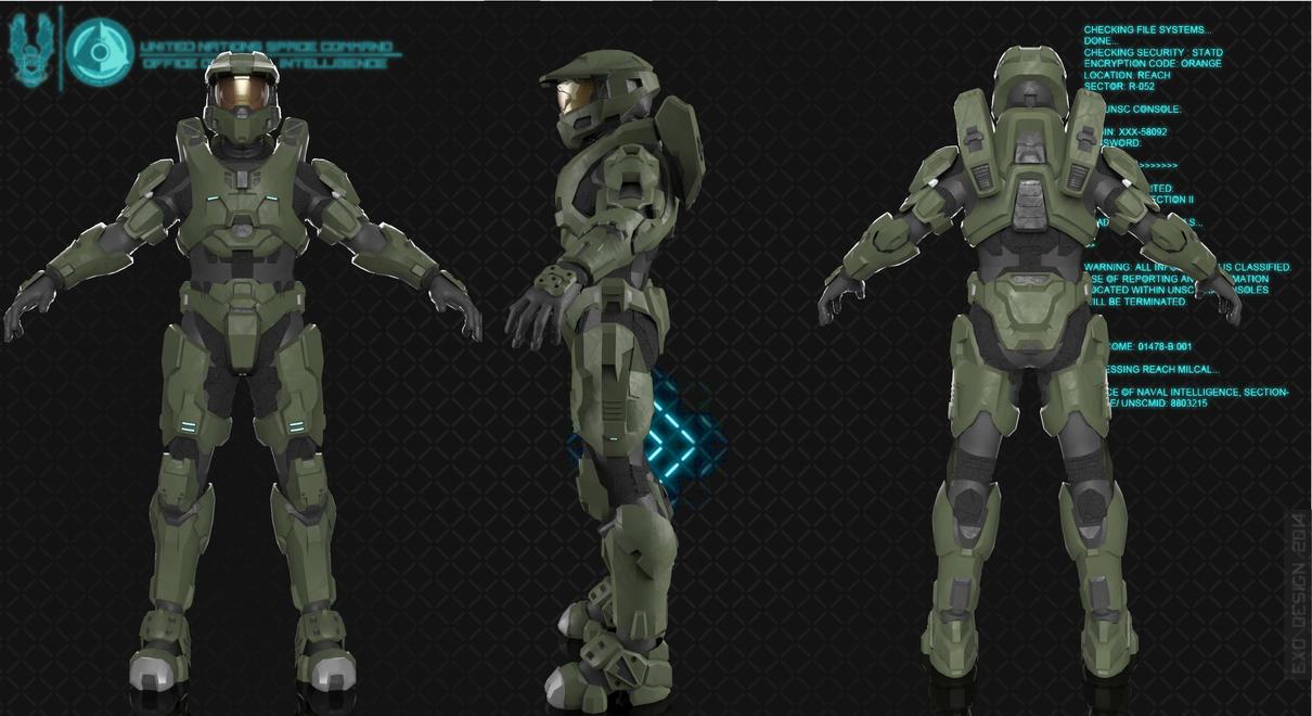 Halo 2 Anniversary Mk Vi G1 By Dutch02 On Deviantart