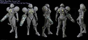 Halo/ Metroid Varia Light suit