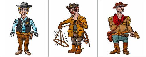Sheriff Gang by narf84