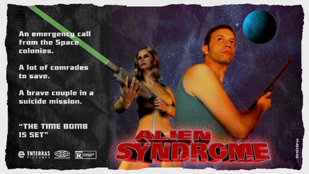 Alien Syndrome Tribute Poster