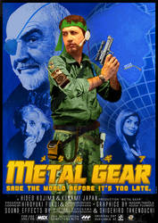 Metal Gear 1 Poster Tribute by narf84