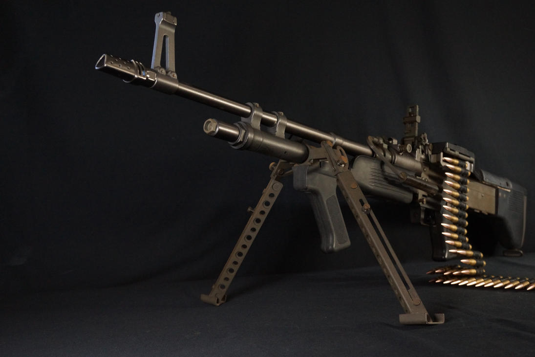M60E3 with starwalker flash hider by Fashion-Defence