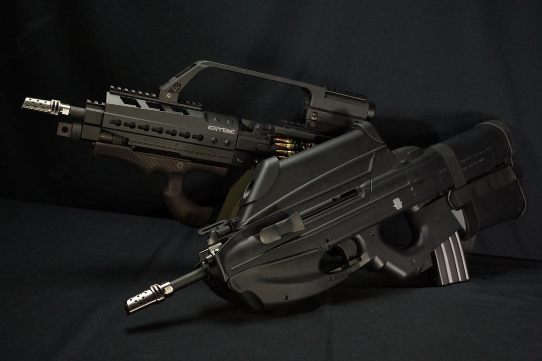 SF weapons,FN F2000,Krytac LMG by Fashion-Defence
