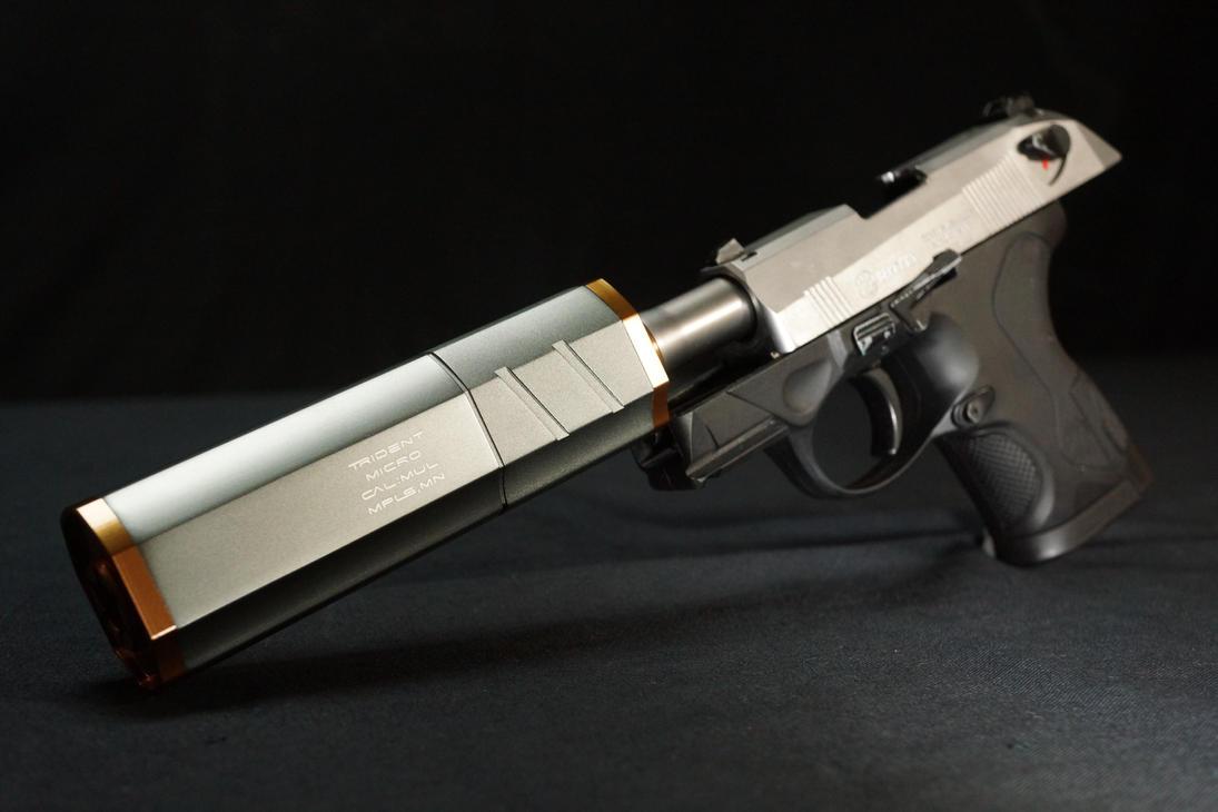 Fashion Defence custom Beretta PX4c by Fashion-Defence