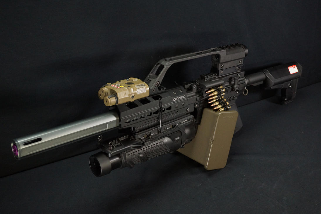 Fashion Defence custom LMG by Fashion-Defence