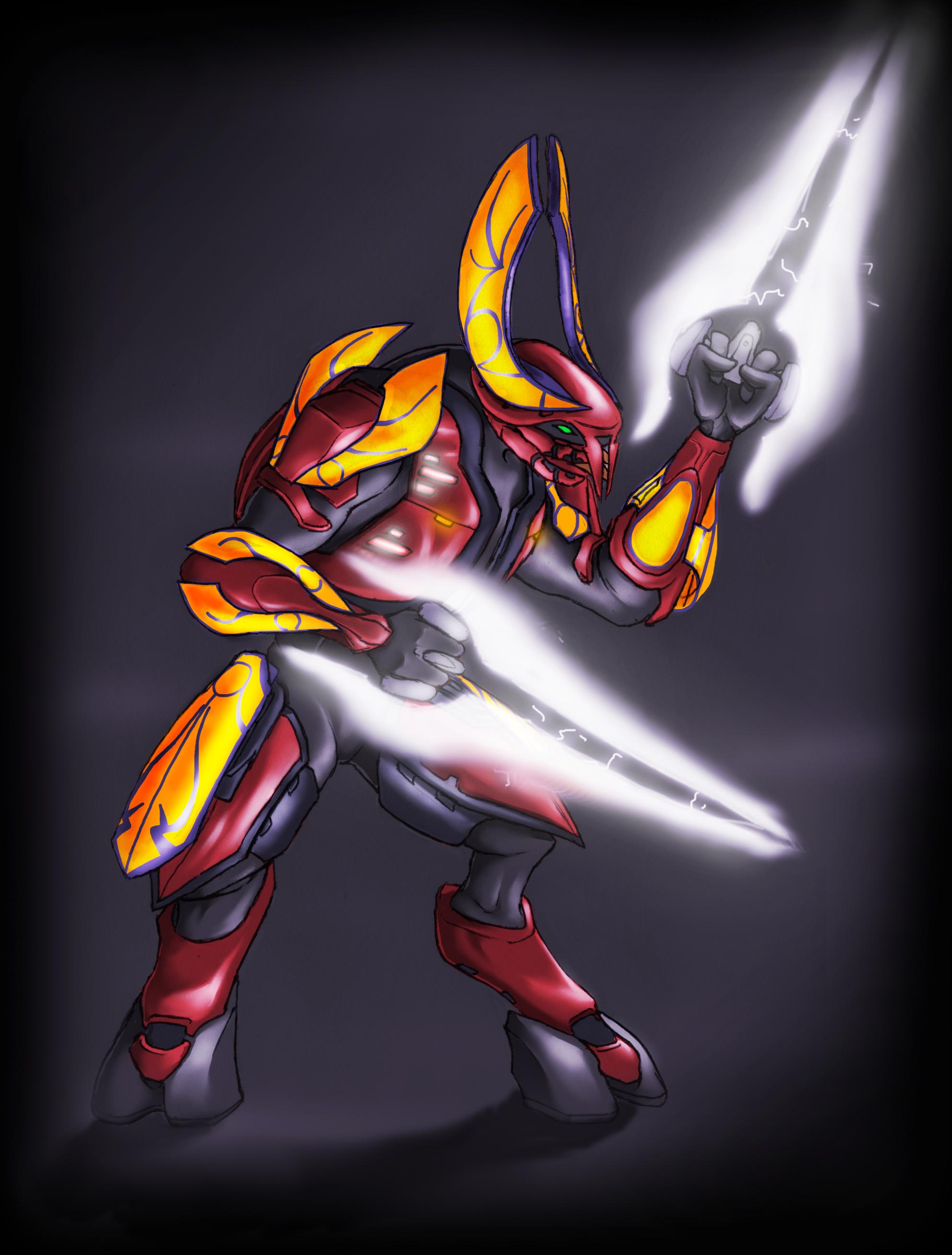Halo 2 Honor Guard Elite by DemonicCriminal on DeviantArt