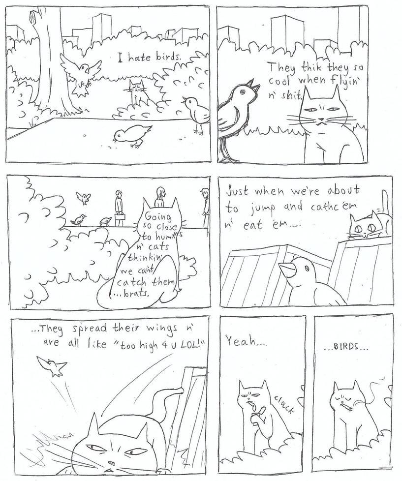 BIRDS by DemonicCriminal