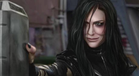 Kate Blanchett as Hela