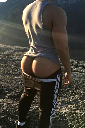 Gay Male Bubble Butt 106