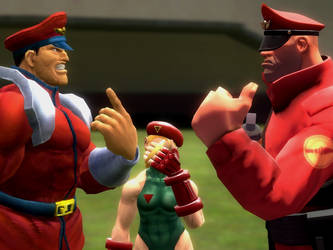 M.bison meets M.bison? by lkhrizl