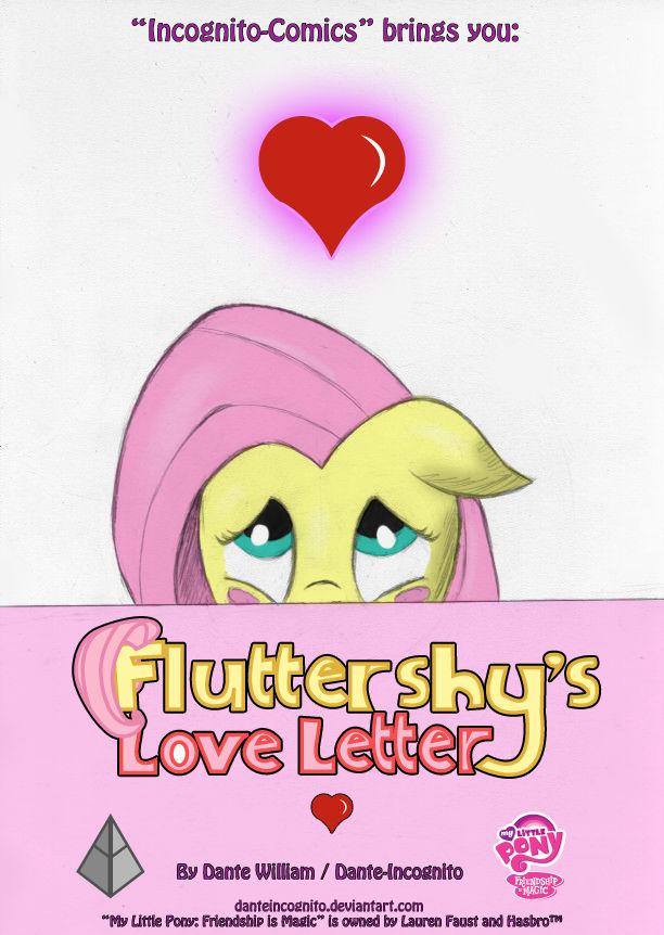 COMIC - ''Fluttershy's Love Letter'' - Cover