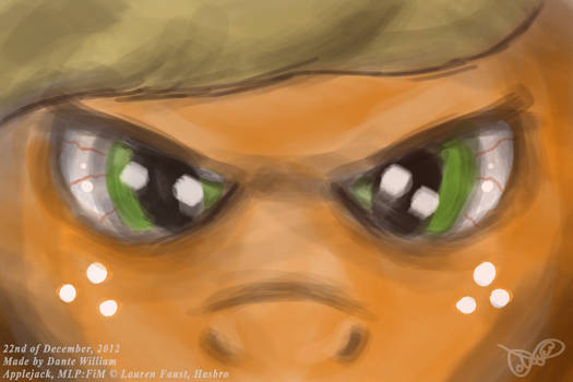 ''Four Art Days of Applejack'' - 04 - Angry