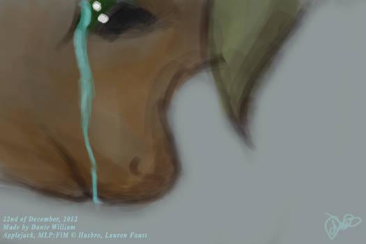 ''Four Art Days of Applejack'' - 05 - Sad