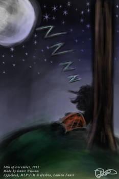 ''Four Art Days of Applejack'' - 07 - Sleeping
