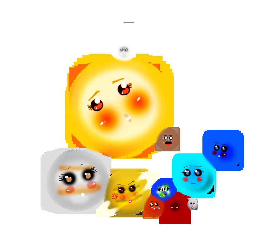 chibi planets background-#10