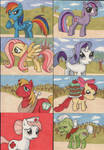 My Little Pony sketchcards 1