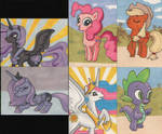 My Little Pony sketchcards 2