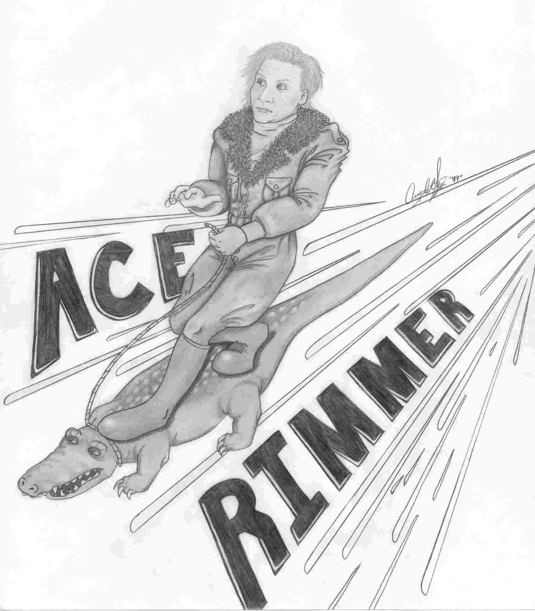 Ace Rimmer by angelacapel
