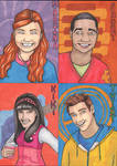 Fresh Beat Band SketchCards
