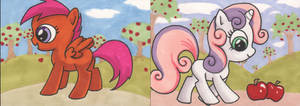 My Little Pony sketchcards 5