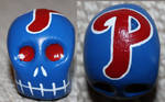 Commissioned Phillies Skull 47