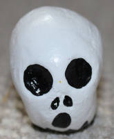 Ghost Skull 55 by angelacapel