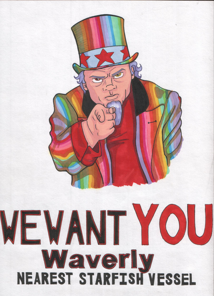 We Want YOU by angelacapel