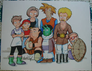 The Critic as DBZ by angelacapel