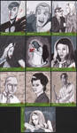 Night of the Living Dead sketch cards