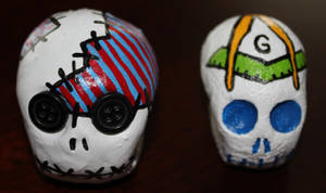 skull 68 and 45 by angelacapel
