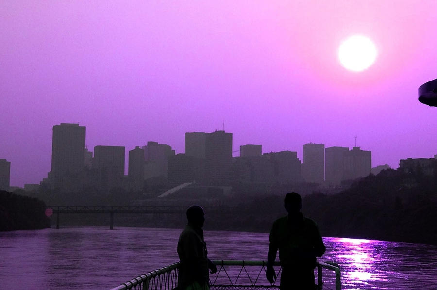 A Dreamer's Memory: The River Skyline by Reinaxia