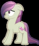 Crystal Pony Vector