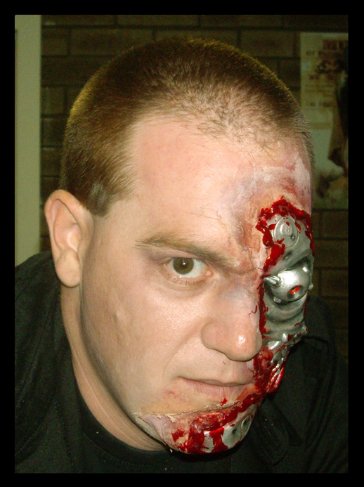 halloween makeup 2008 by deanbowenart on deviantart. Black Bedroom Furniture Sets. Home Design Ideas