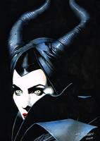 Maleficent by DeanBowenArt