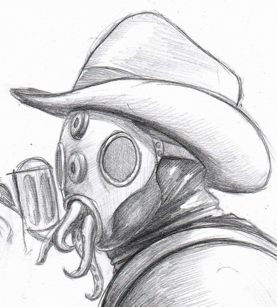 Alpha Mutant sketch by Mickeymonster on DeviantArt