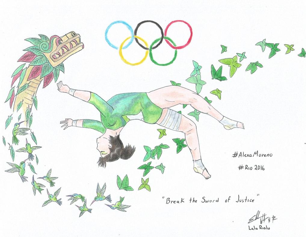 Rio 2016 Alexa Moreno by LaloRiolu