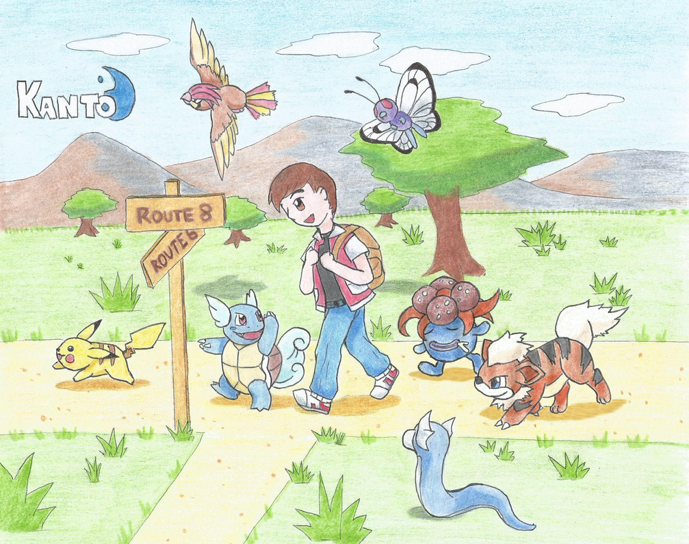 Pokemon Adventure KANTO (ver. 2) by LaloRiolu