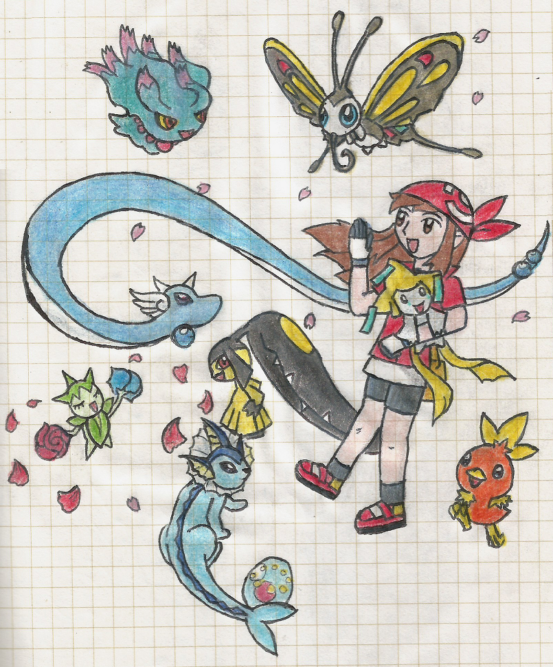 PKMN trainer HOSHI by LaloRiolu