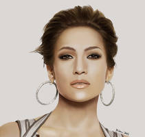 Jennifer Lopez -realistic by martita80