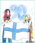 Finland 90 years
