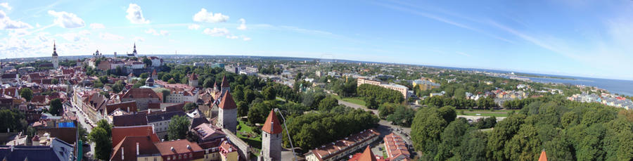 Tallinn by winzrella