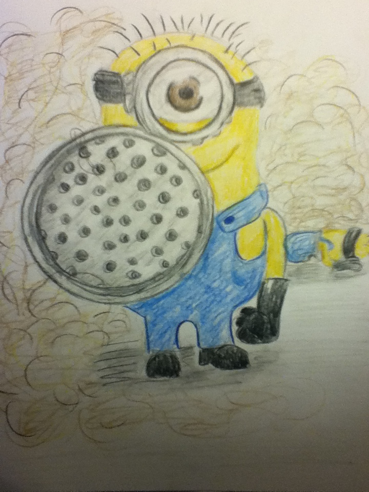 Minion with a Fart Gun by dawn-dreamer