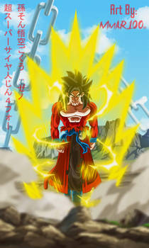 NOW LET'S FIGHT! HERE IS XENO GOKU SUPER SAIYAN 4!