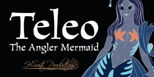 ***Pre-Orders Open Now*** Teleo the Angler Mermaid