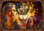 Fantasy art by Steve A Roberts by digitalwizard