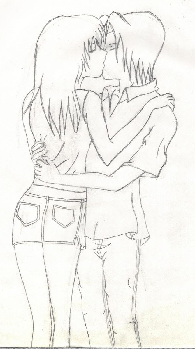 Anime Couple By Murasakiscorpion On Deviantart